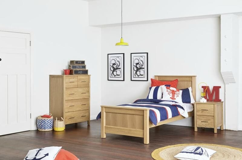 best beds for kids parker king sigle timber bed from bedshed