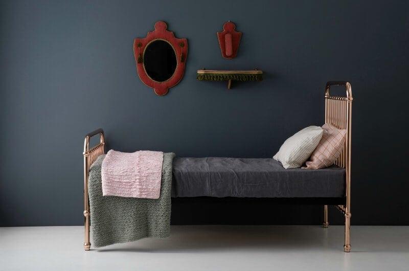 incy interiors eden gold bed frame beds for kids online