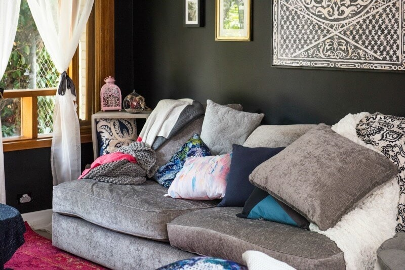 house rules 2017 boho living room