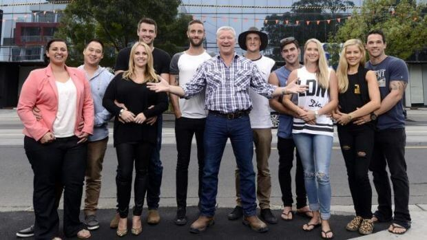 The Block GLasshouse Contestants with Scott Cam