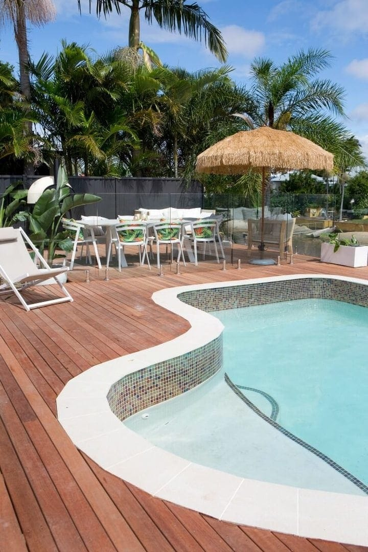 house rules 2017 aaron and daniella backyard pool