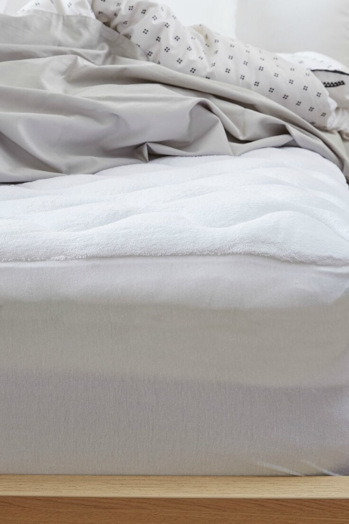 quilted mattress topper from lorraine lea
