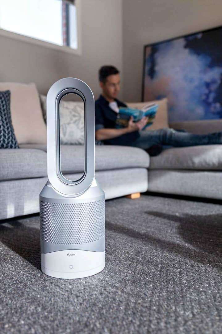 dyson air purifier with built in heater and cooling
