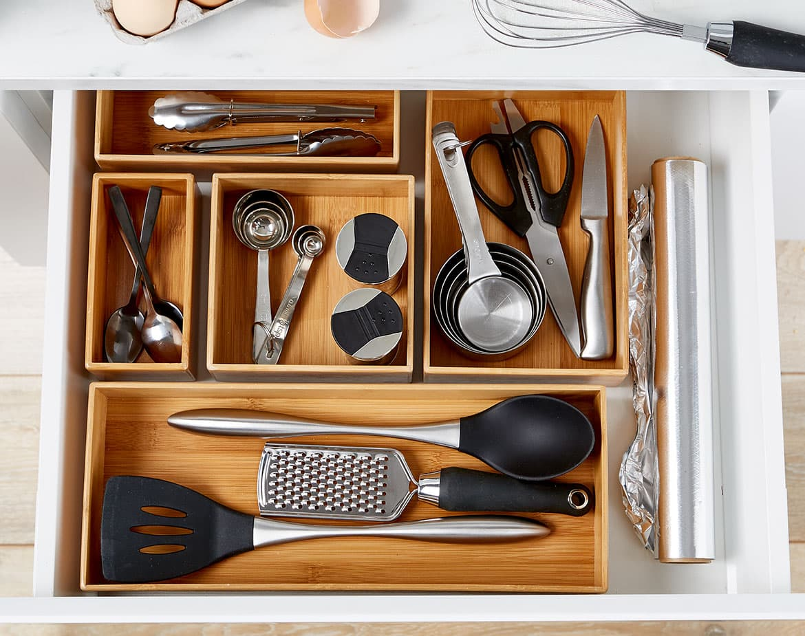 kmart kitchen drawer organiser