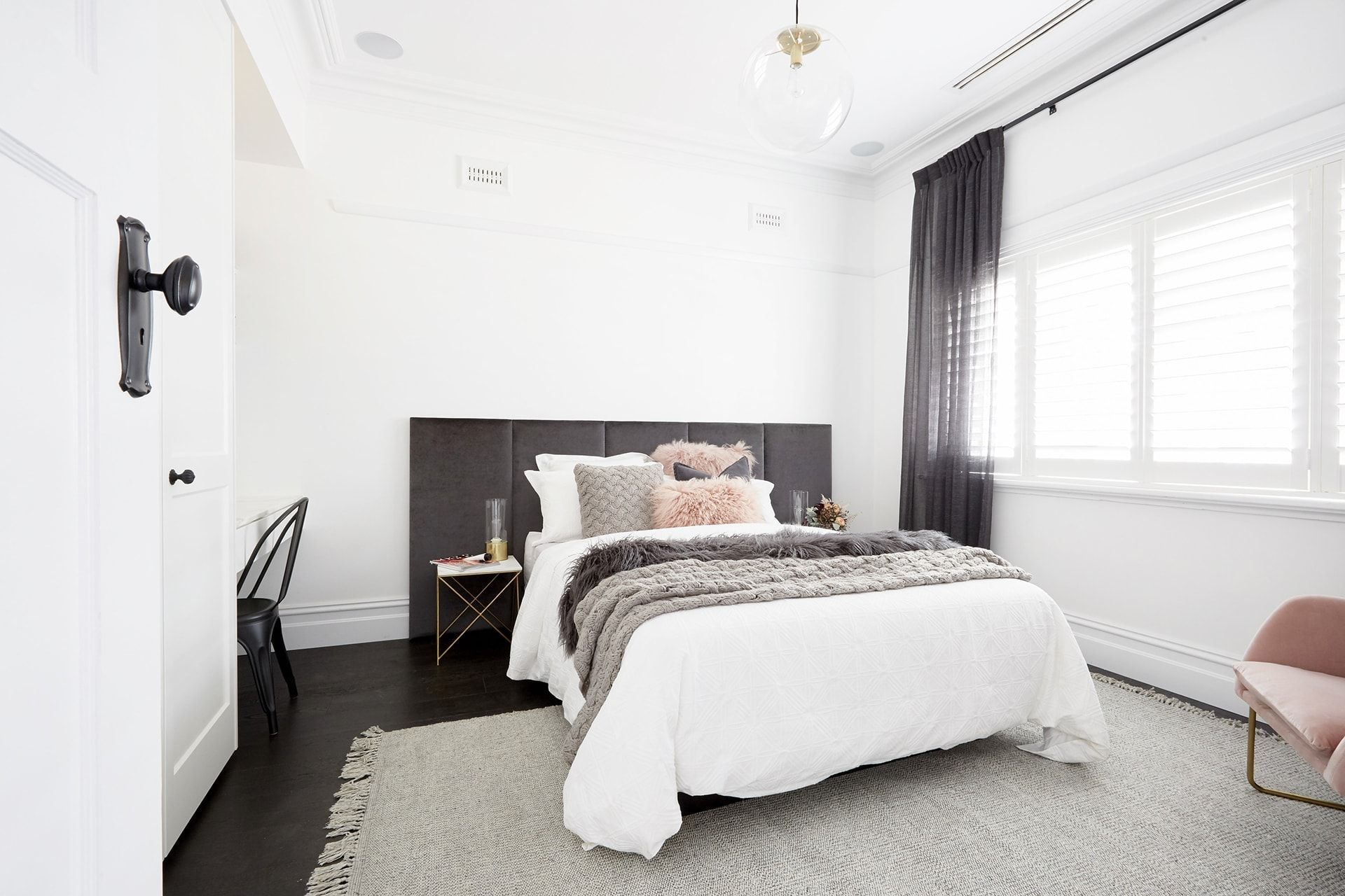 Get The Look The Block 2017 Ronnie And Georgia Guest Bedroom