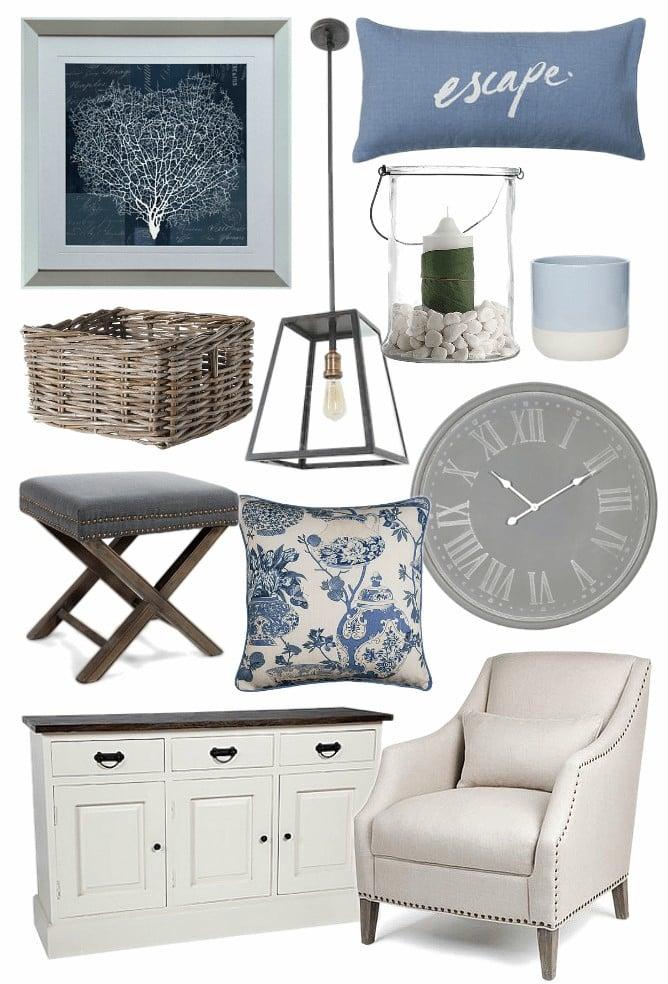 hamptons furniture and homewares australia mood board tlc interiors
