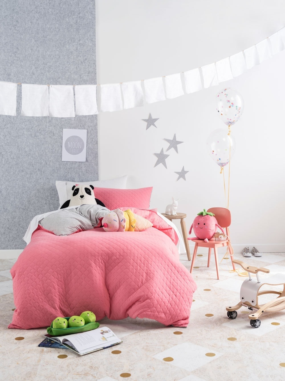 hot pink bedding ideas for girls from linen house