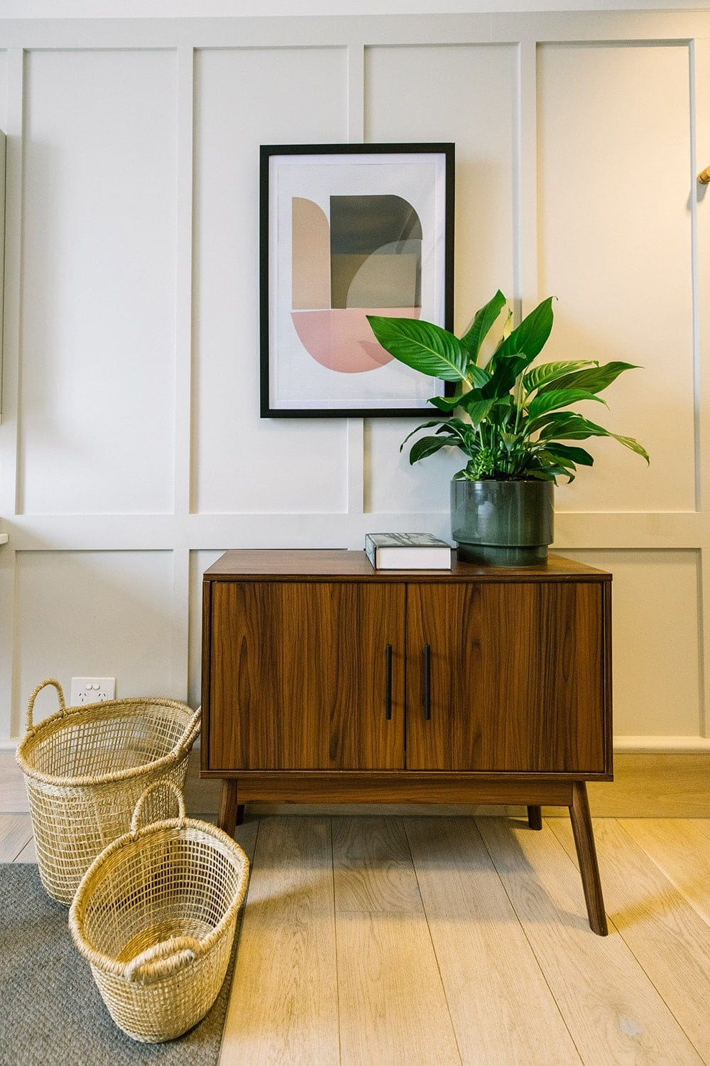 kmart homewares 2018 brown timber sideboard
