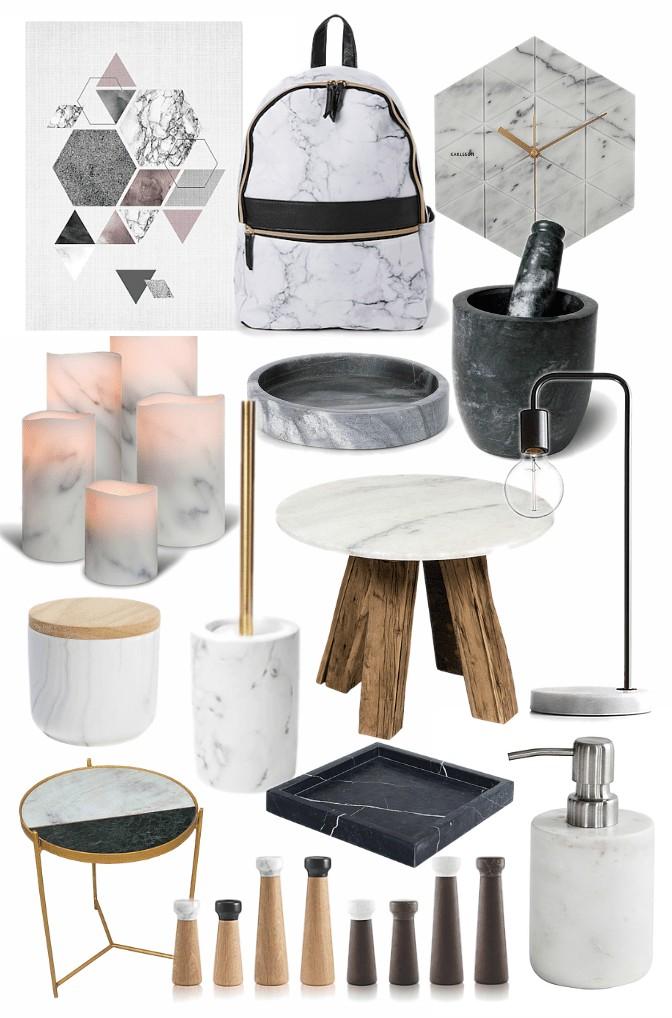 marble homewares and furniture mood board marble decor australia
