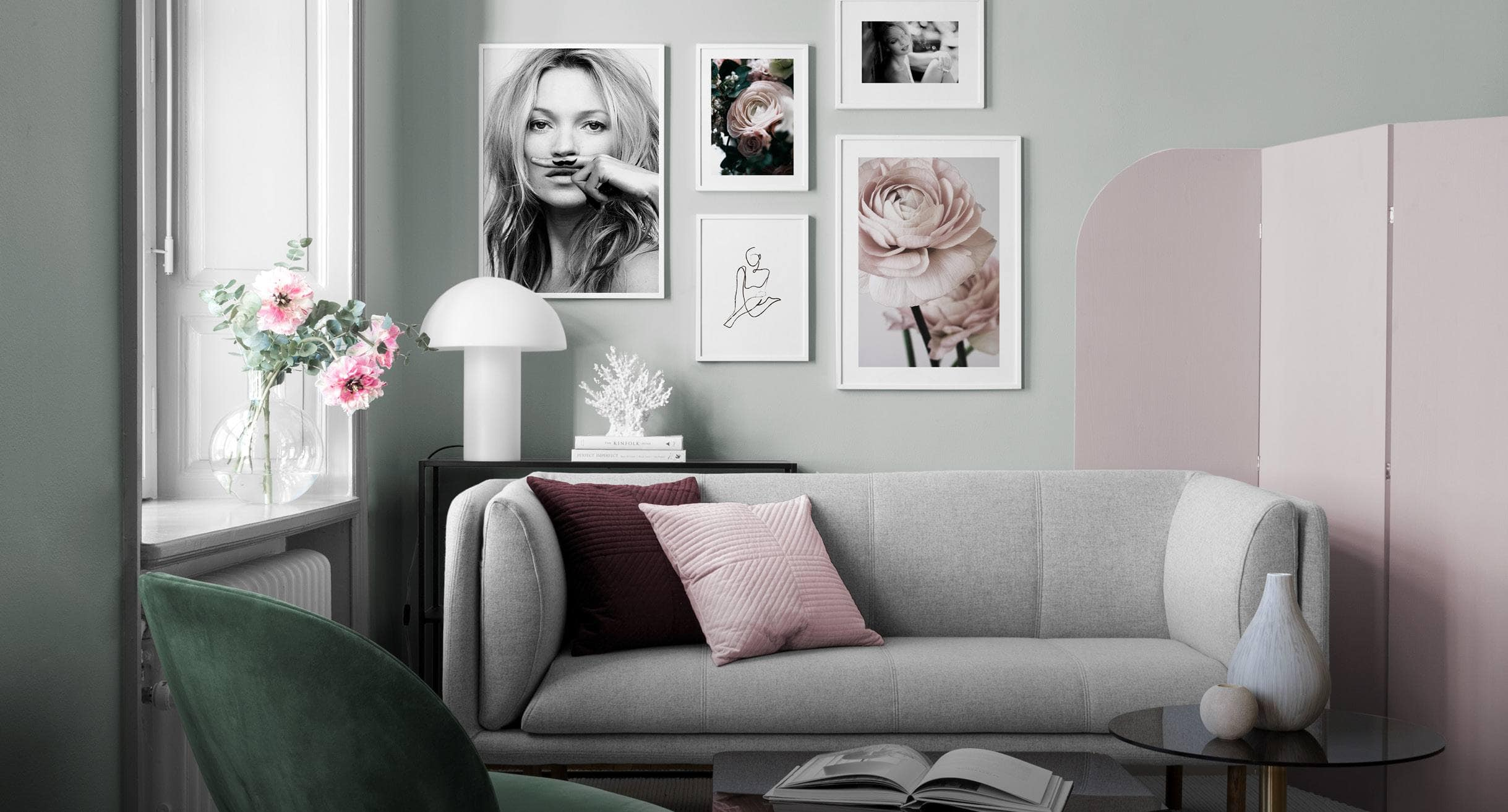 Trending Now Pink And Green Homewares Edit Tlc Interiors