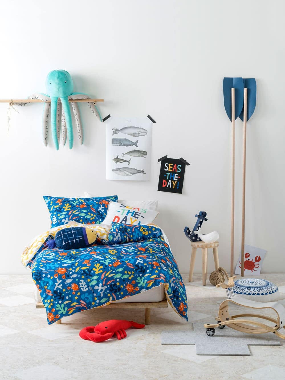 under the sea kids bedding set from linen house