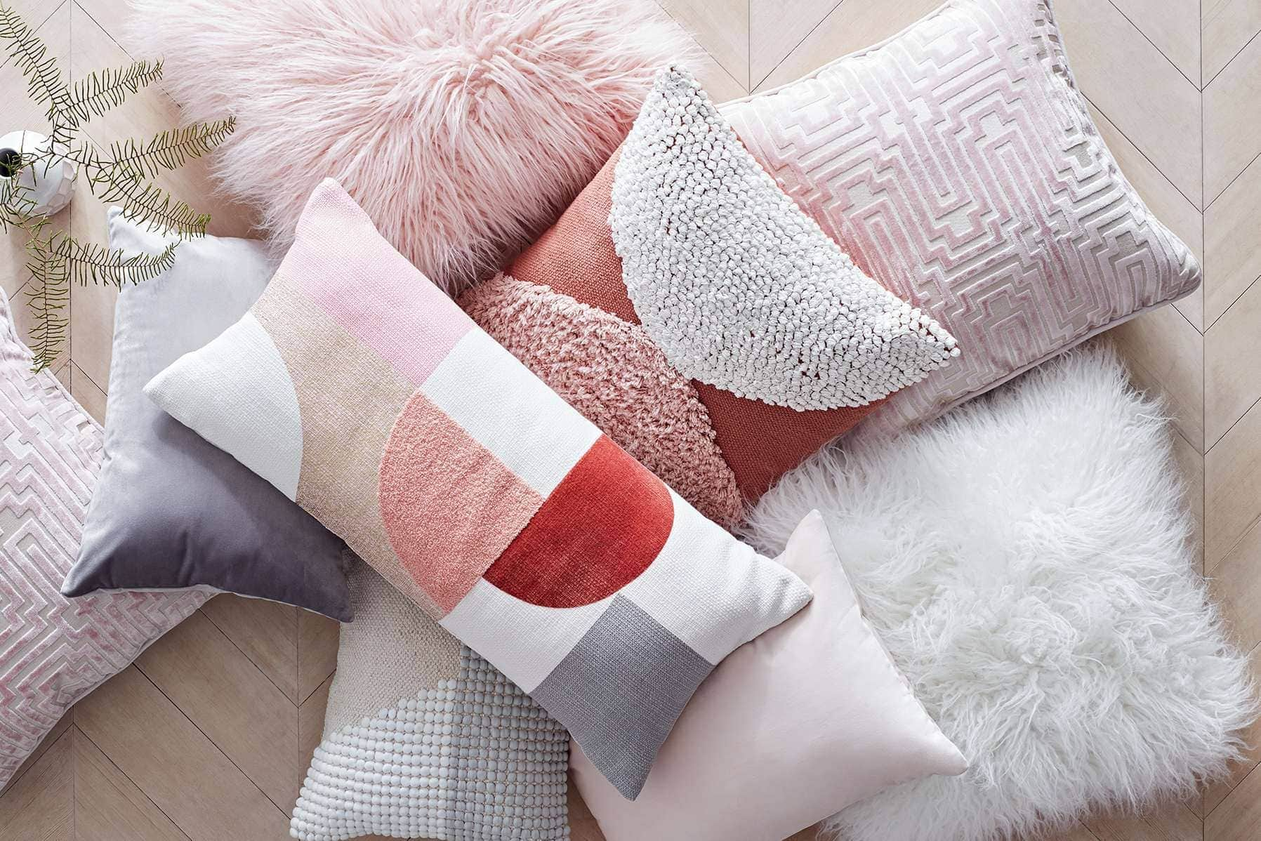 coloured cushions from target usa