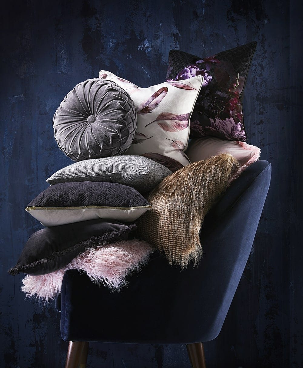 target homewares 2018 purple and grey cushions from target