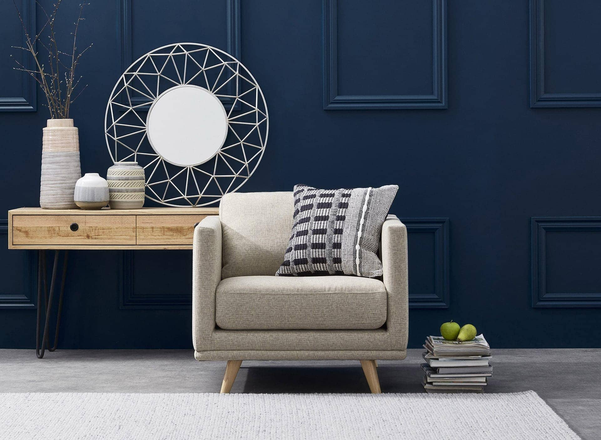 Oxley Armchair from focus on furniture springvale homemaker centre