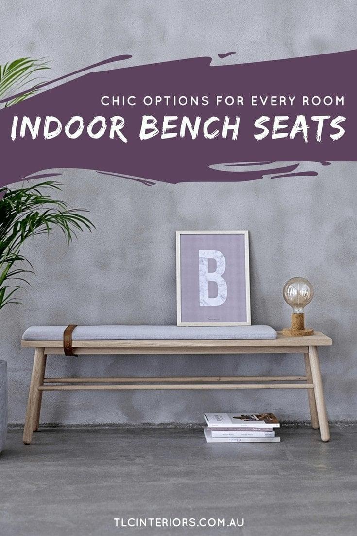 bloomingville indoor bench seats on tlc interiors blog
