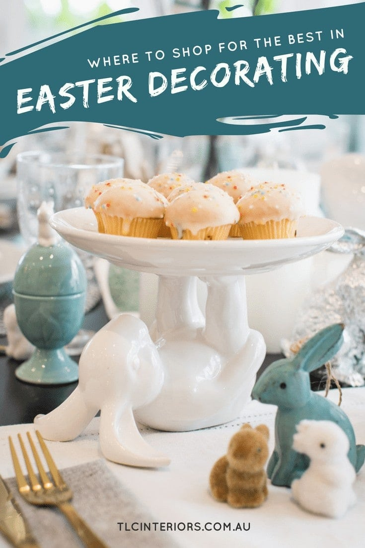 easter decorations australia bed bath n table rabbit cake stand