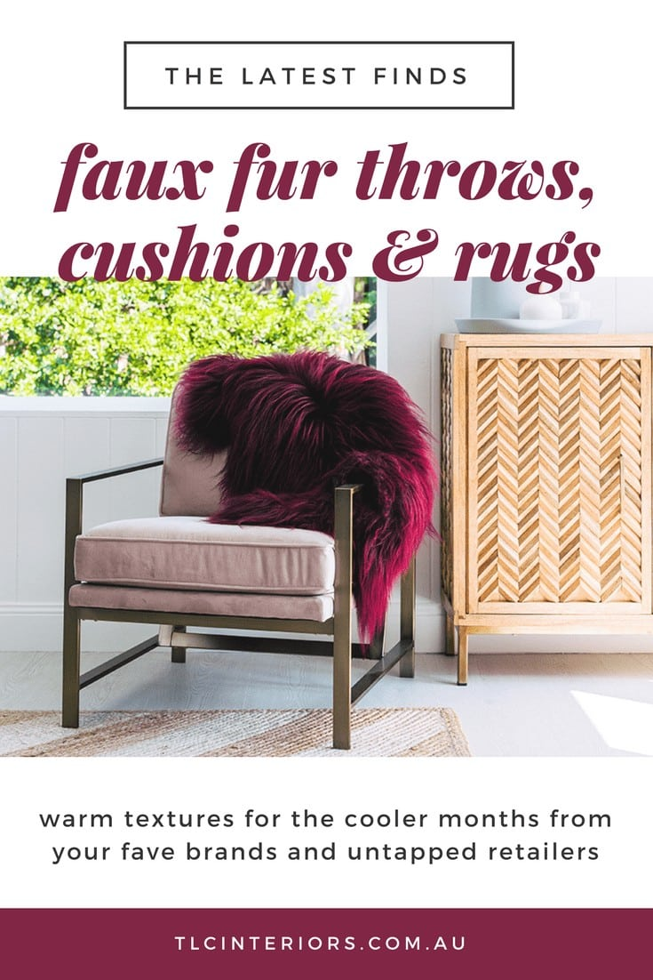 faux fur throw in burgundy from hides of excellence