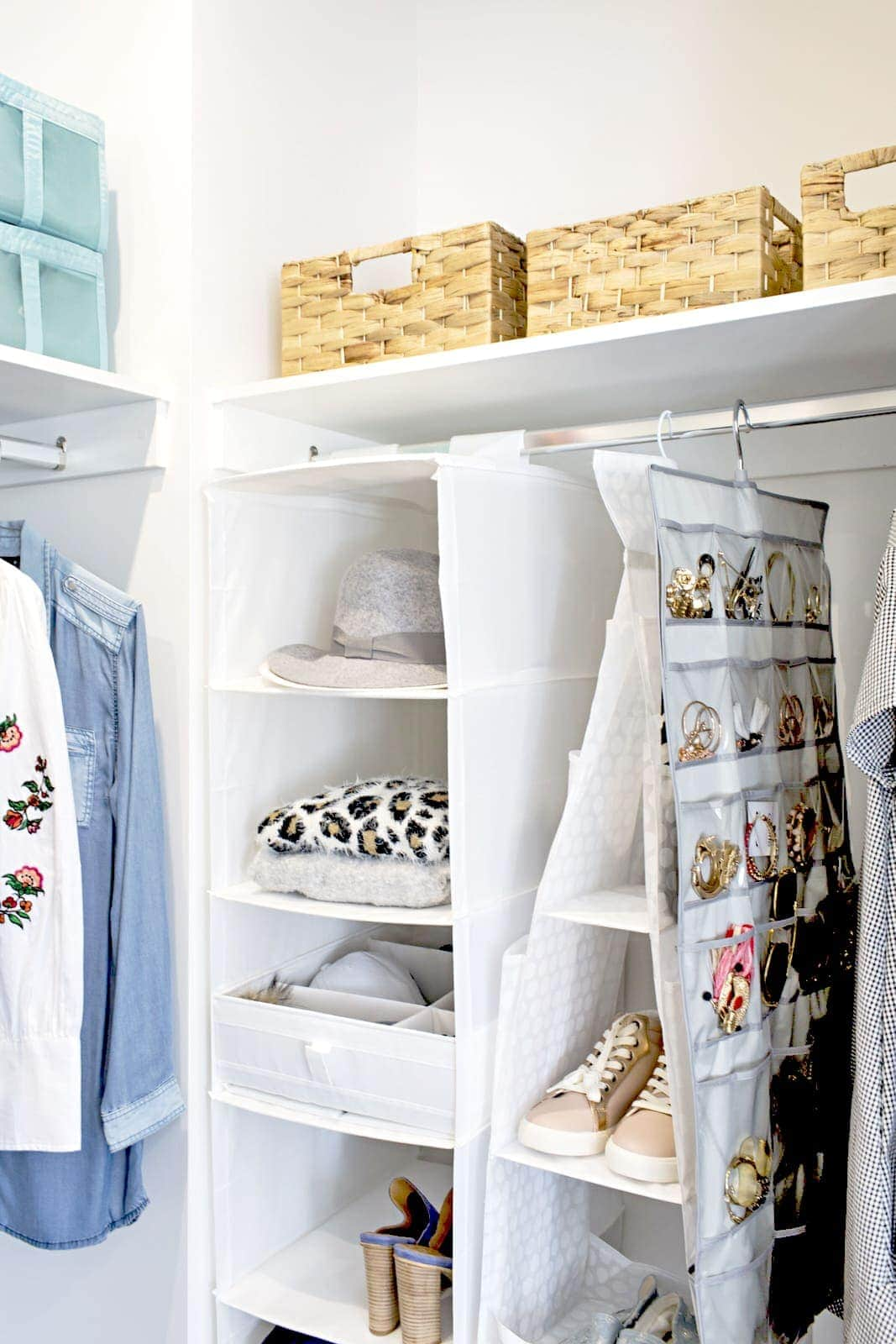 ikea wardrobe storage hanger by tlc interiors