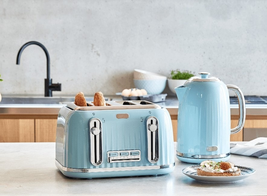 kmart colourful kettles and toasters on tlc interiors