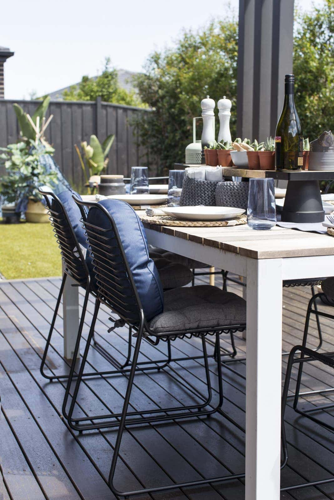 Kmart Outdoor Furniture Kmart Black Chairs