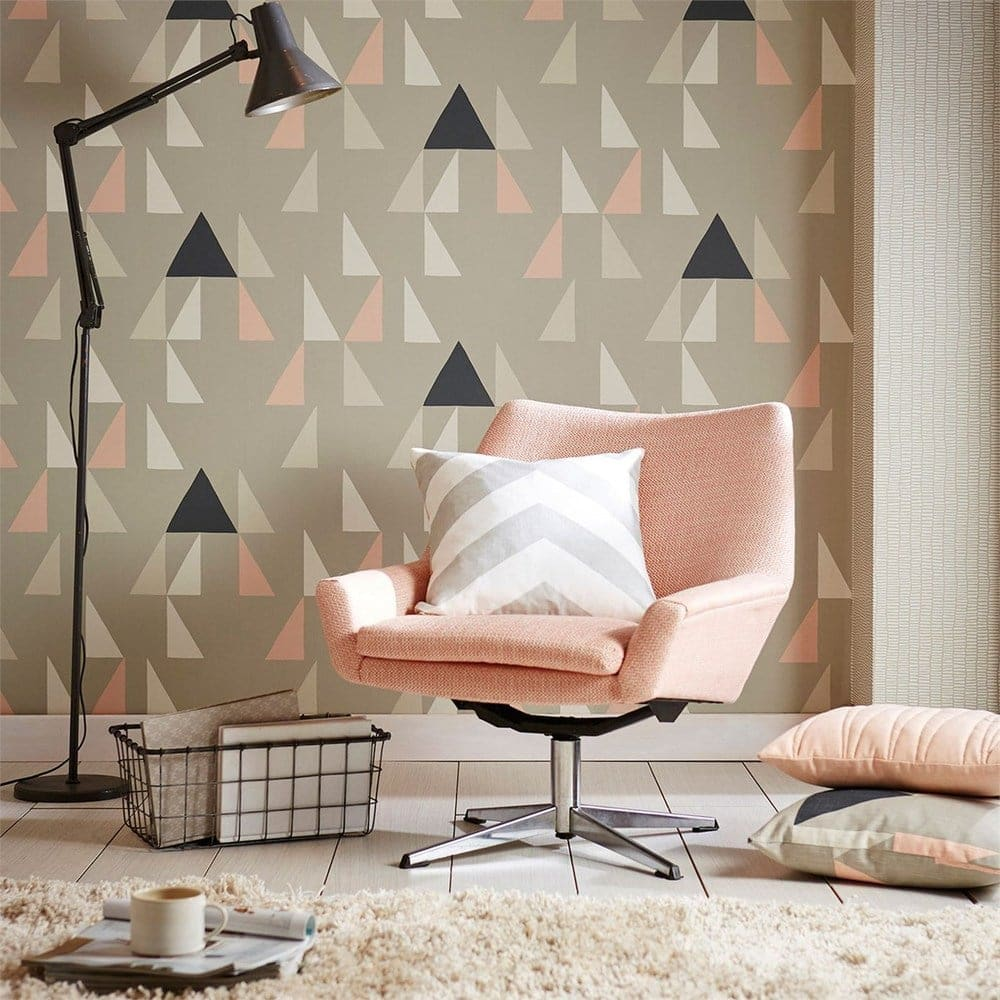 natty and polly modul blush wallpaper ideas for kids rooms