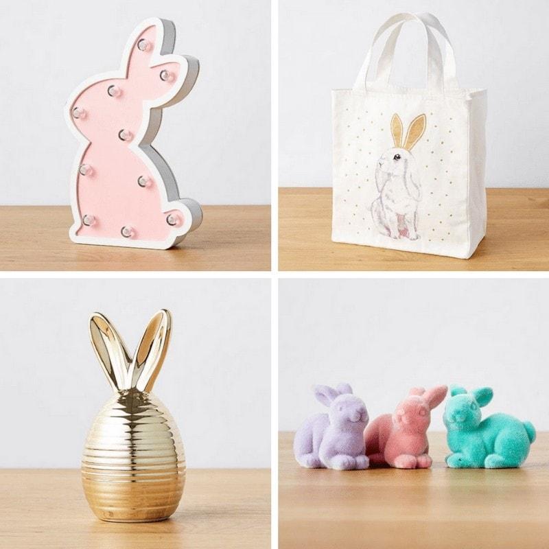 target easter decorations light up easter rabbit