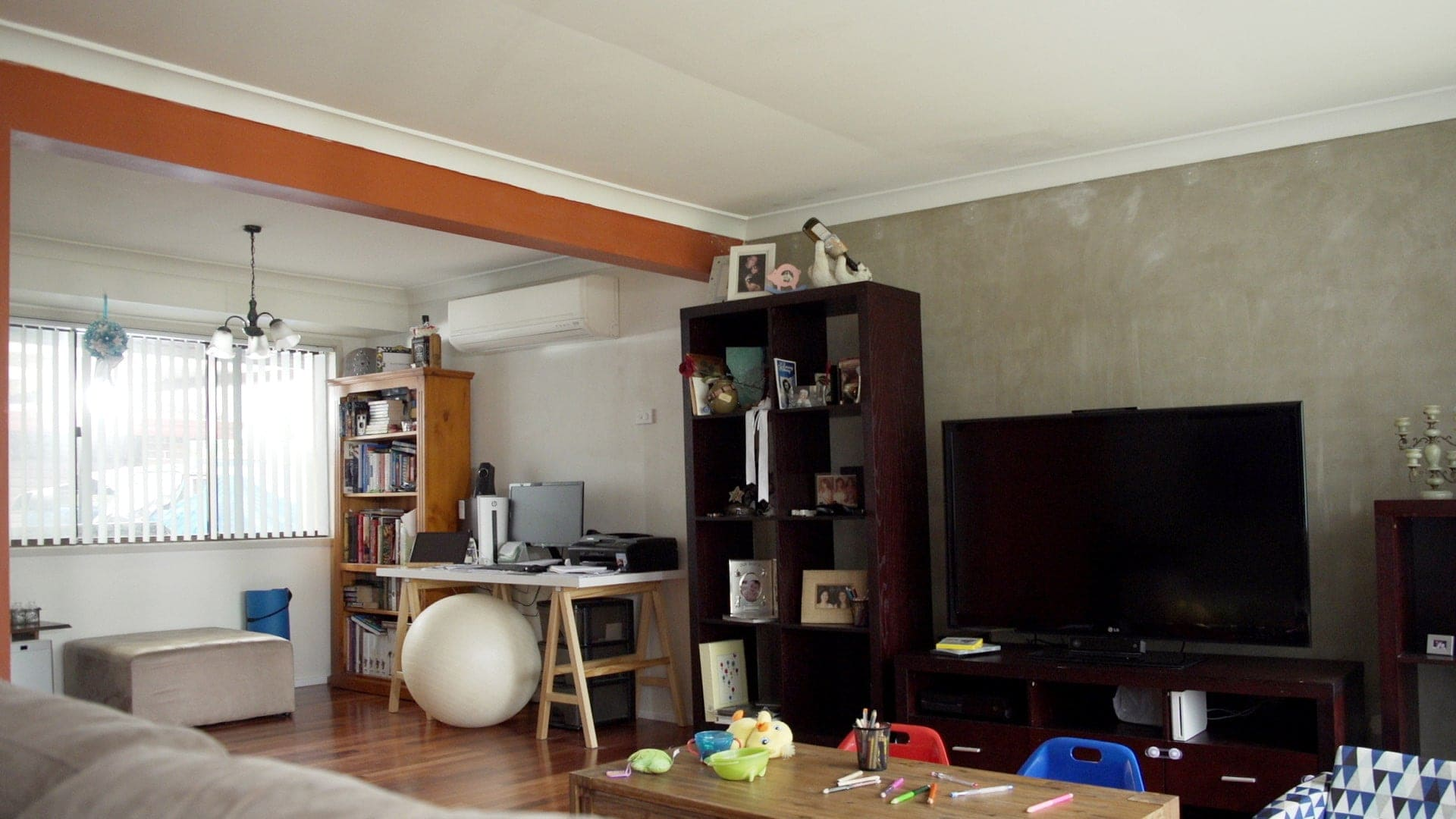 ikea living room makeover before