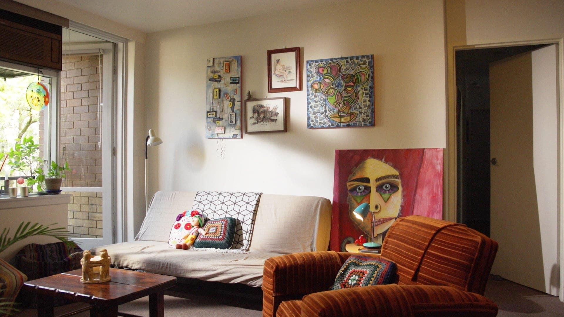 ikea living room makeover in st kilda