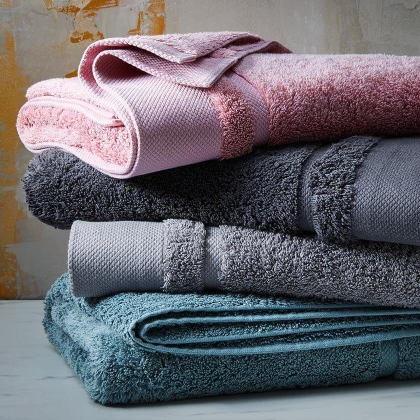 target australia bath towels in jewel tones