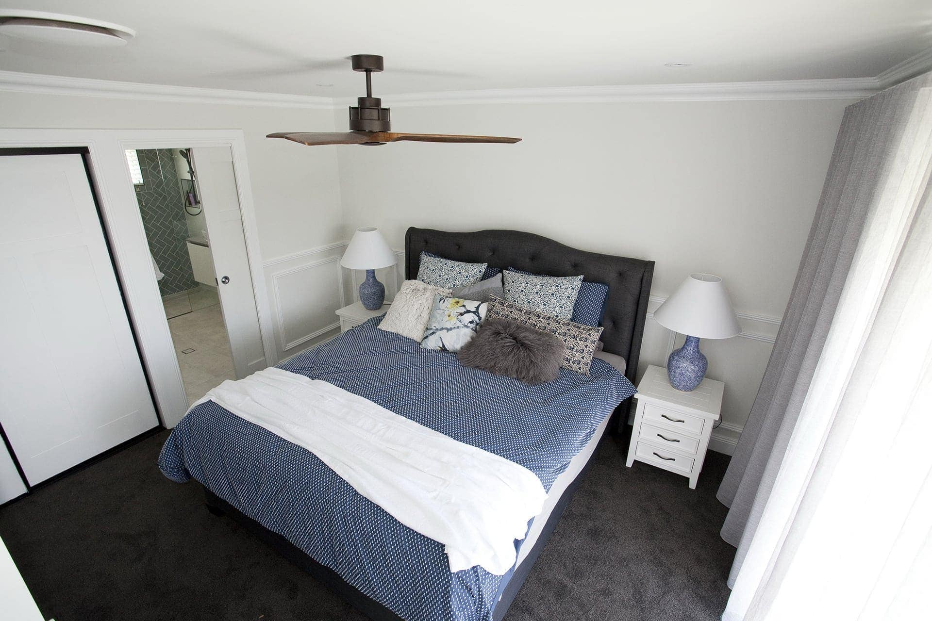 house rules 2018 mel and dave master bedroom with hamptons furniture