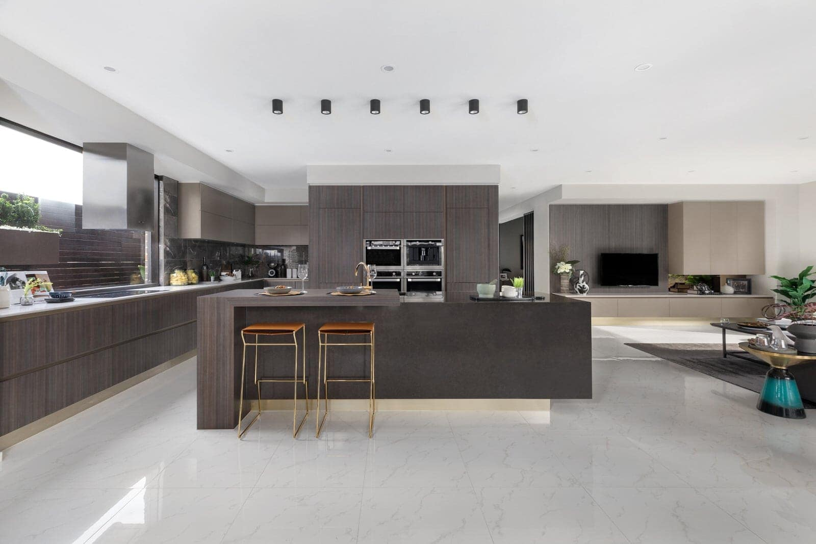 2019 kitchen design trends all brown timber kitchen cabinets