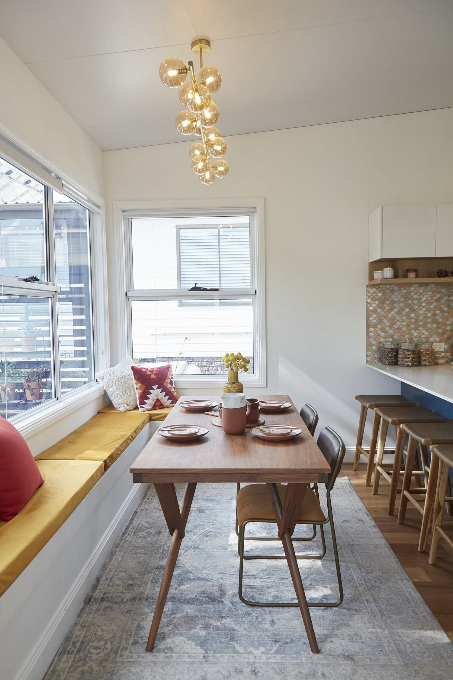 house rules 2018 grand final home reveal dining room