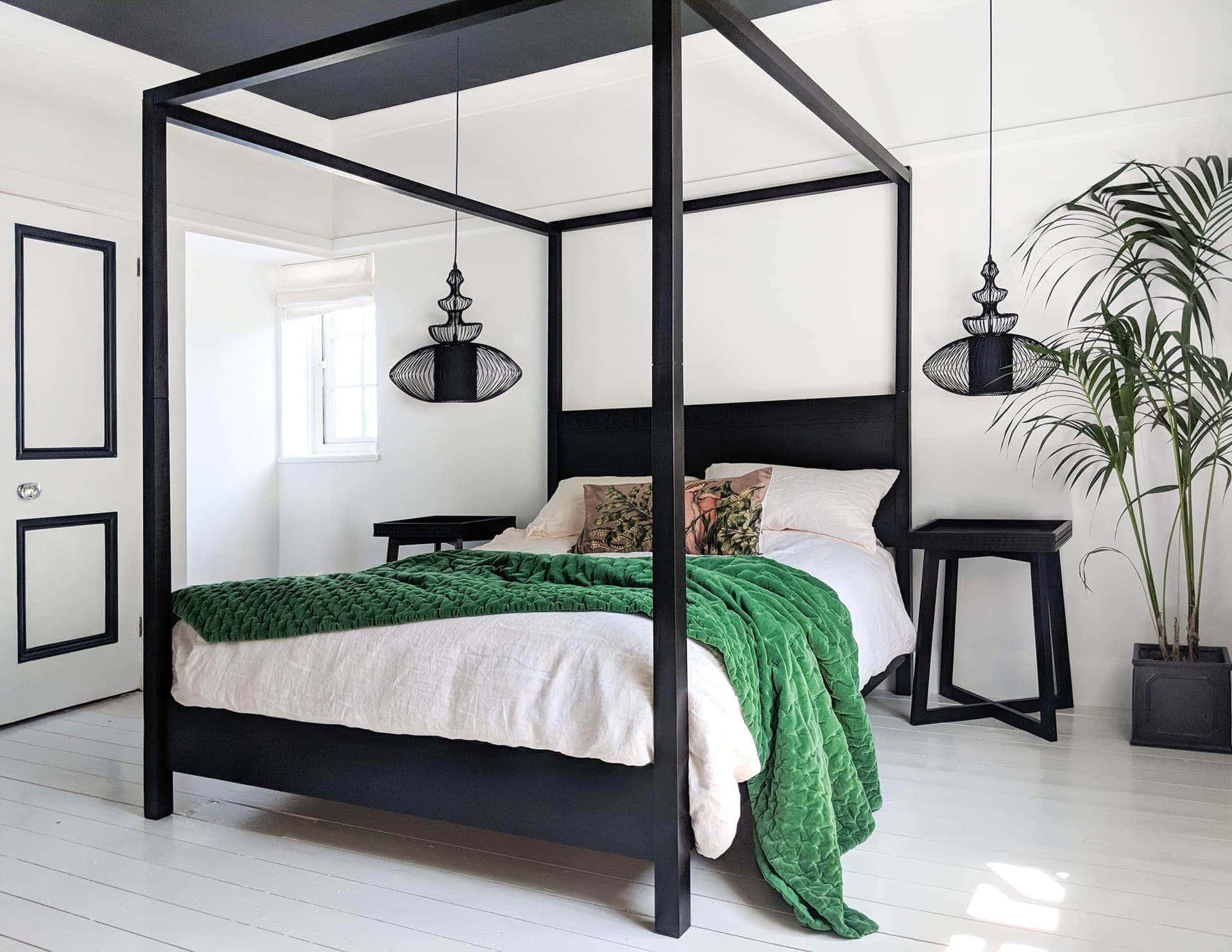 TLC Interiors & Cheats on Choosing Pendant Lights for a Master Bedroom