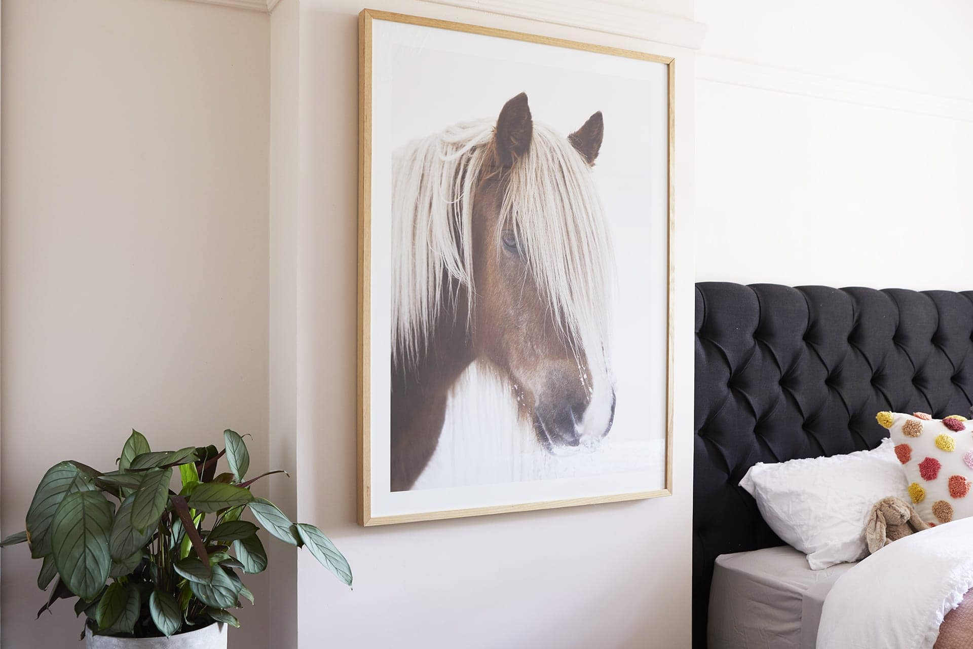 the block 2018 48 hour challenge kerrie and spence horse art in kids room