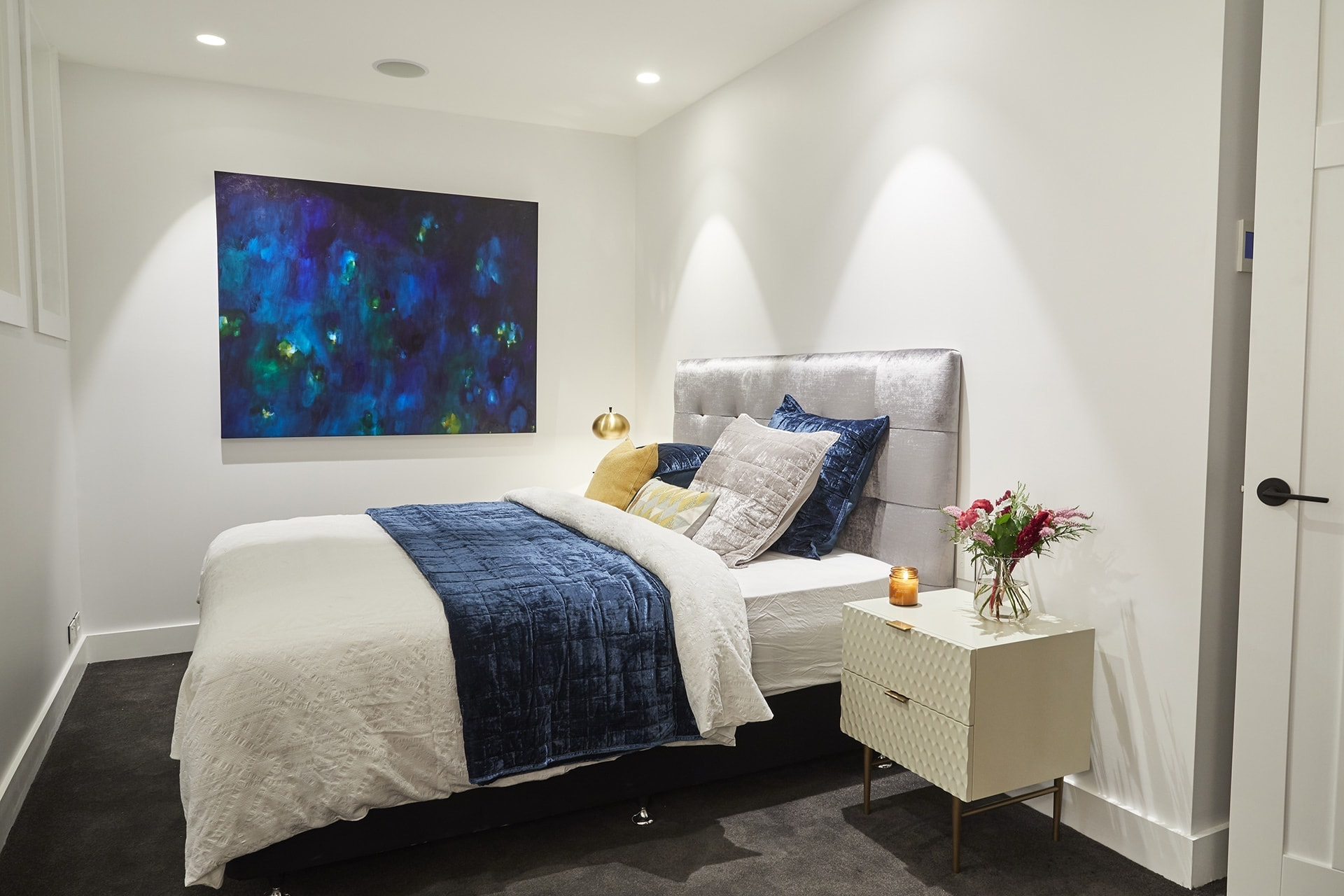 the block 2018 guest bedroom reveals kerrie and spence