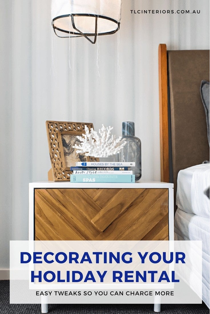decorating a holiday rental decorating an airbnb coastal bedside table ideas