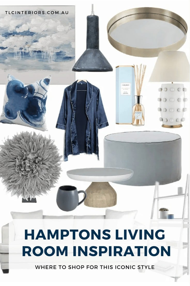 hamptons living room ideas decorating a hamptons living room mood board