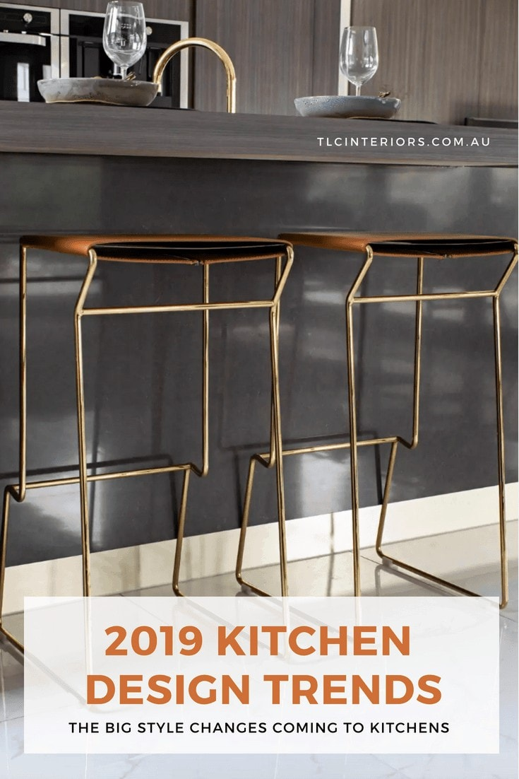 kitchen design trends 2019 dark brown kitchen ideas from metricon homes display