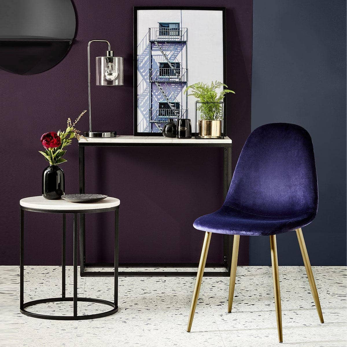 kmart velvet dining chair blue velvet upholstered chair