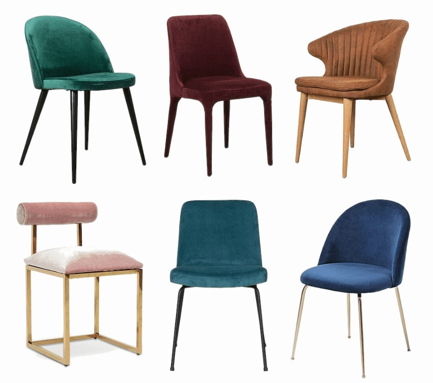kmart velvet dining chairs and other velvet chairs tlc interiors
