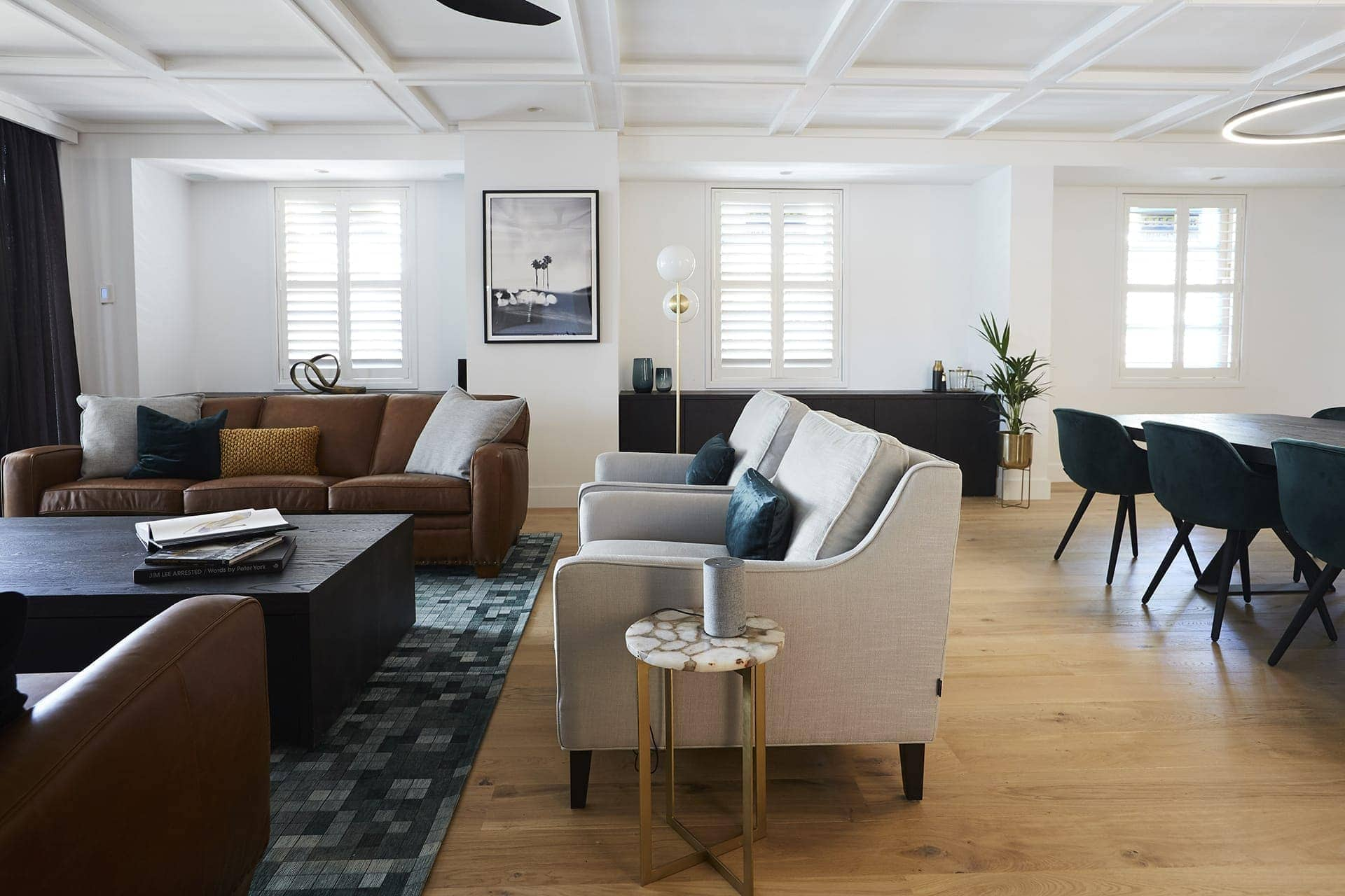 the block 2018 kerrie and spence living room