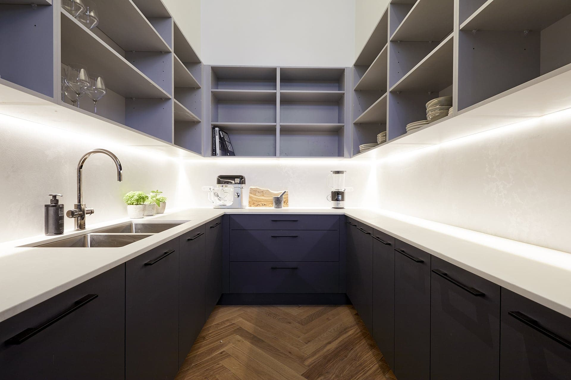 the block 2018 kitchens bianca and carla butlers pantry