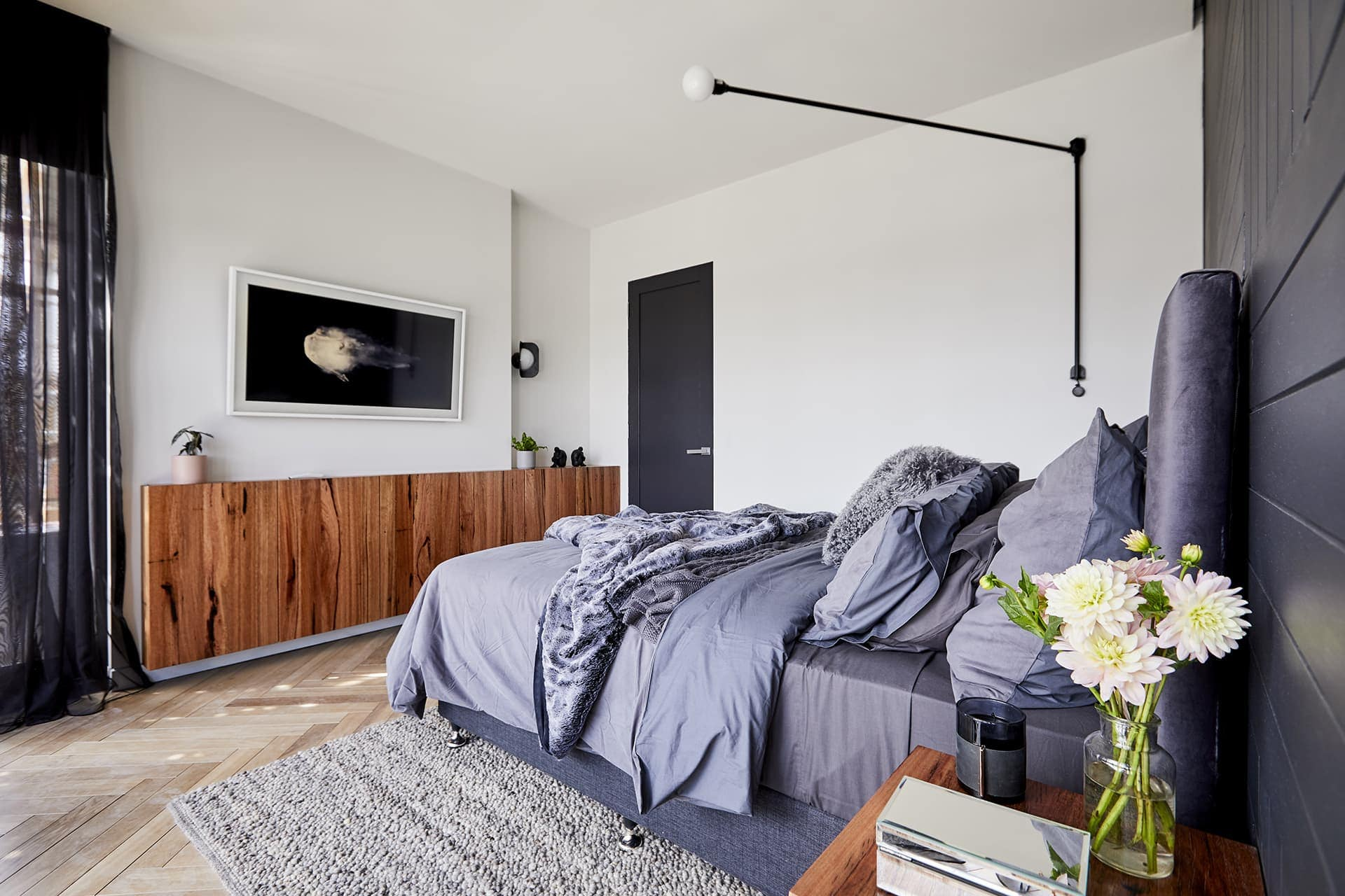 the block 2018 master bedrooms bianca and carla bedroom art