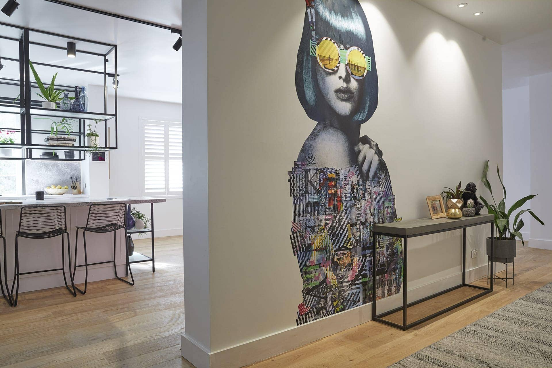 the block 2018 challenge apartment hallway