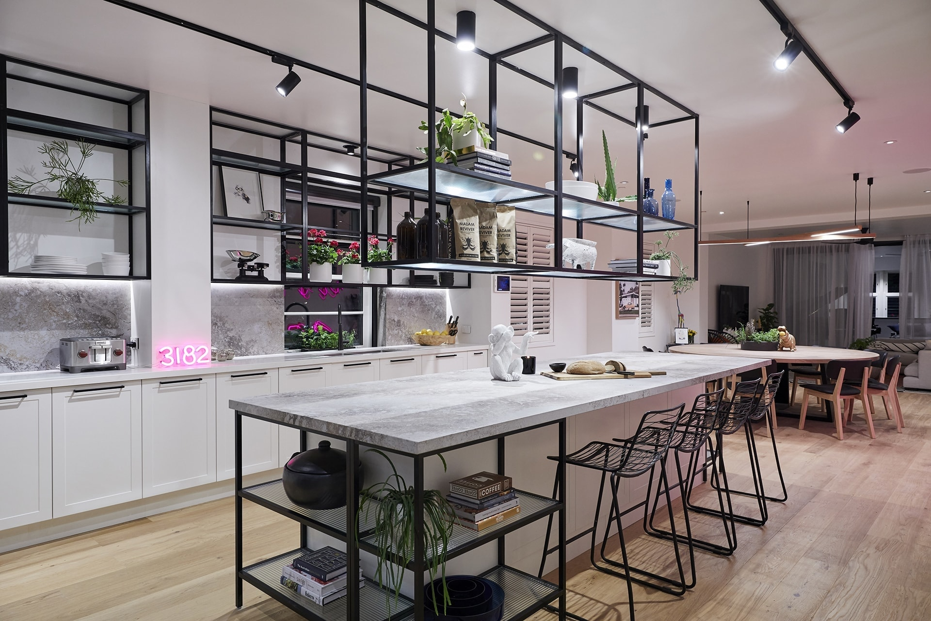 the block 2018 challenge apartment kitchen