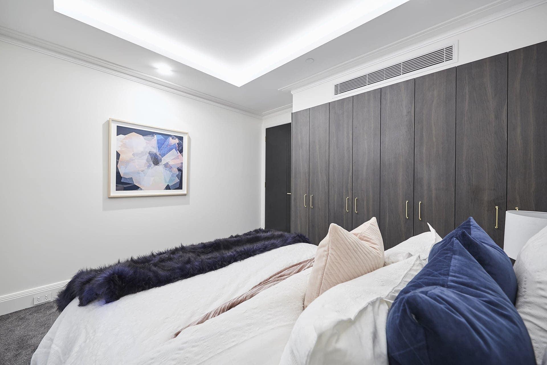 the block 2018 guest bedrooms hayden and sara bedroom