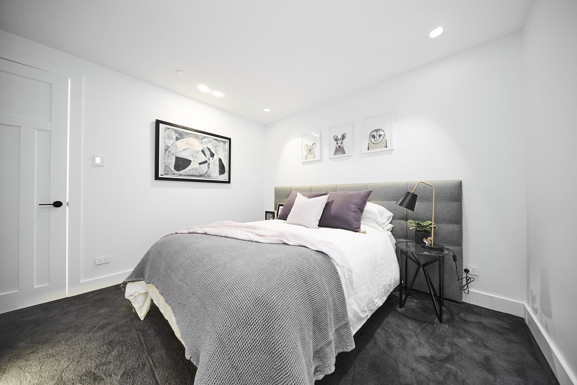 the block 2018 kerrie and spence guest bedroom