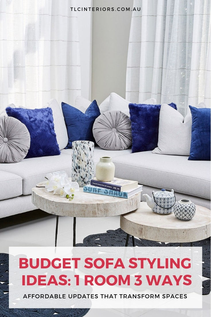 affordable sofa styling ideas blue and grey sofa styling copy