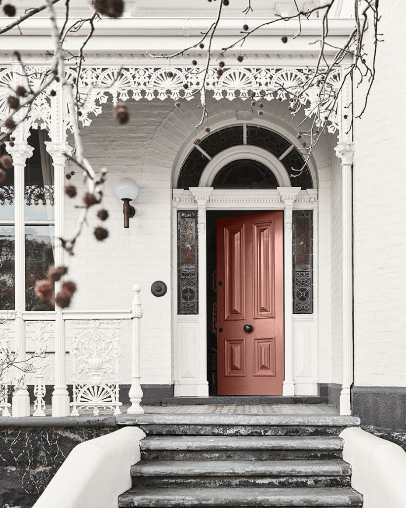 dulux coral paint front door colour trends for interiors 2019