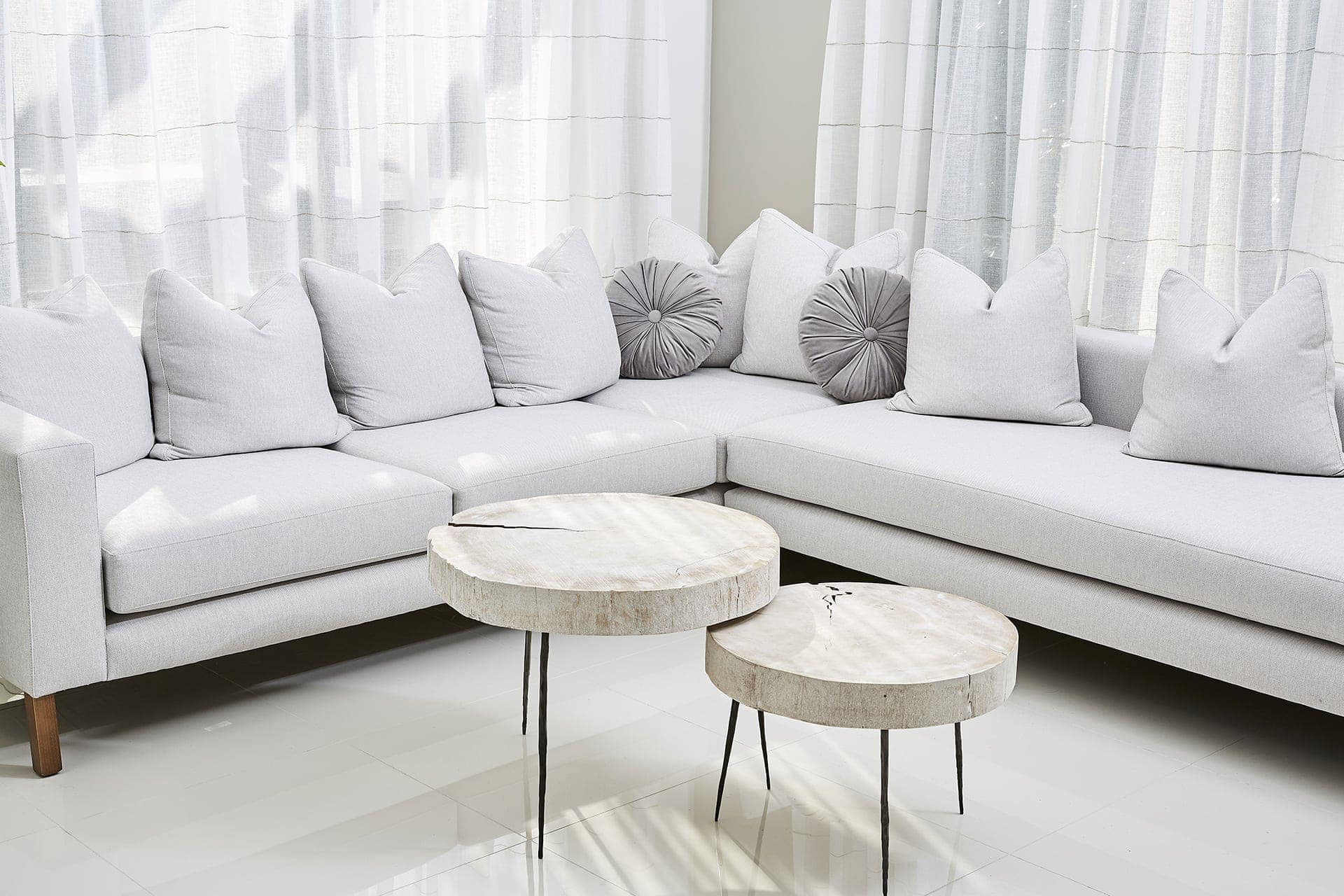 grey sofa styling ideas sectional sofa in white living room